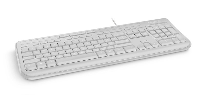 Wired Keyboard 600 (USB, Qwerty UK, wit)
