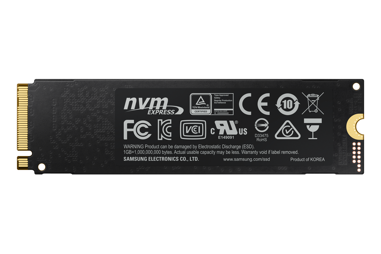 1000 GB MZ-V7P1T0BW 970 PRO SSD (encrypted, M.2 2280, PCI Express 3.0 x4 NVMe, 256-bit AES, TCG Opal Encryption 2.0)