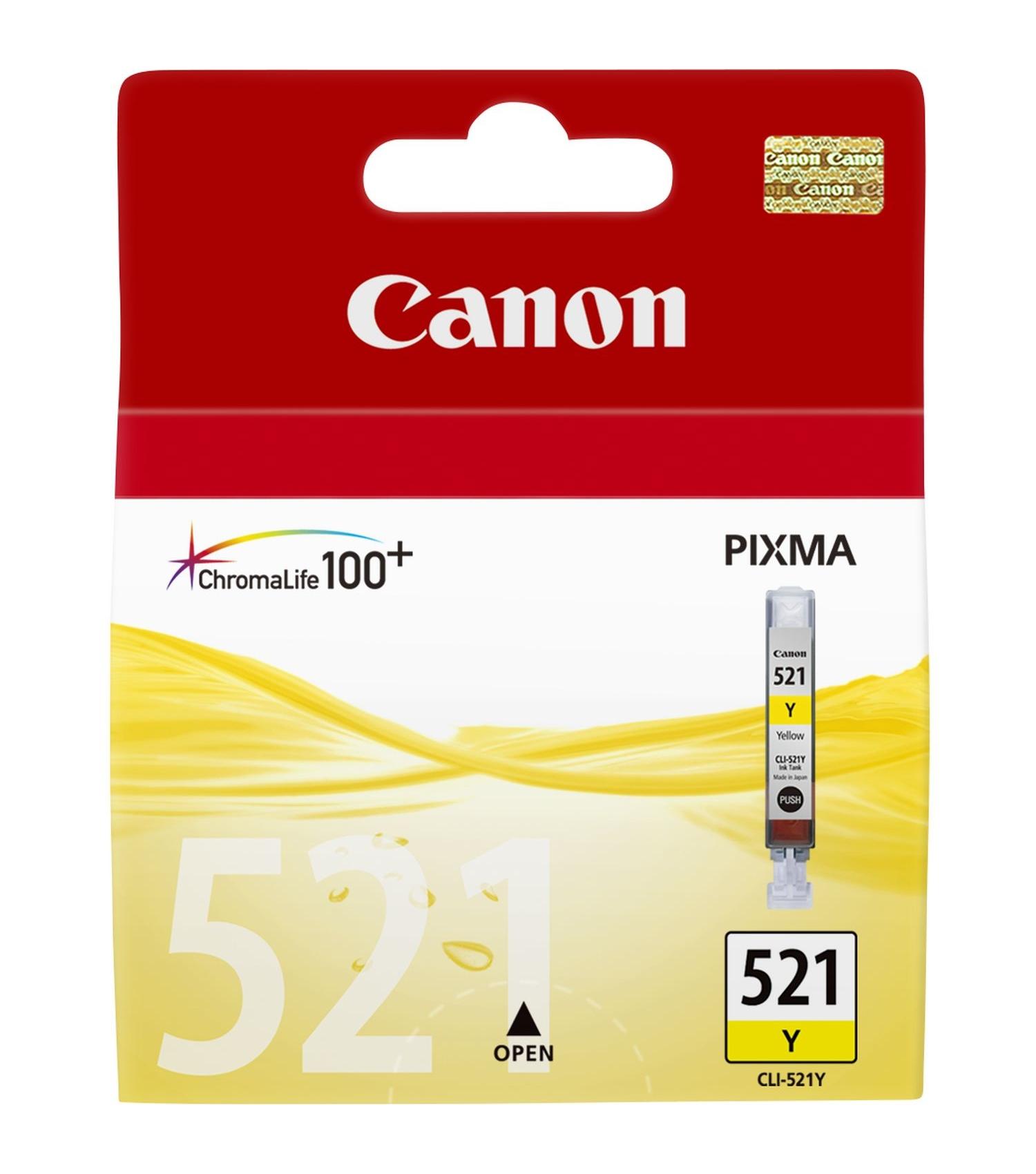 CLI-521 inkjetcartridge geel (9 ml)