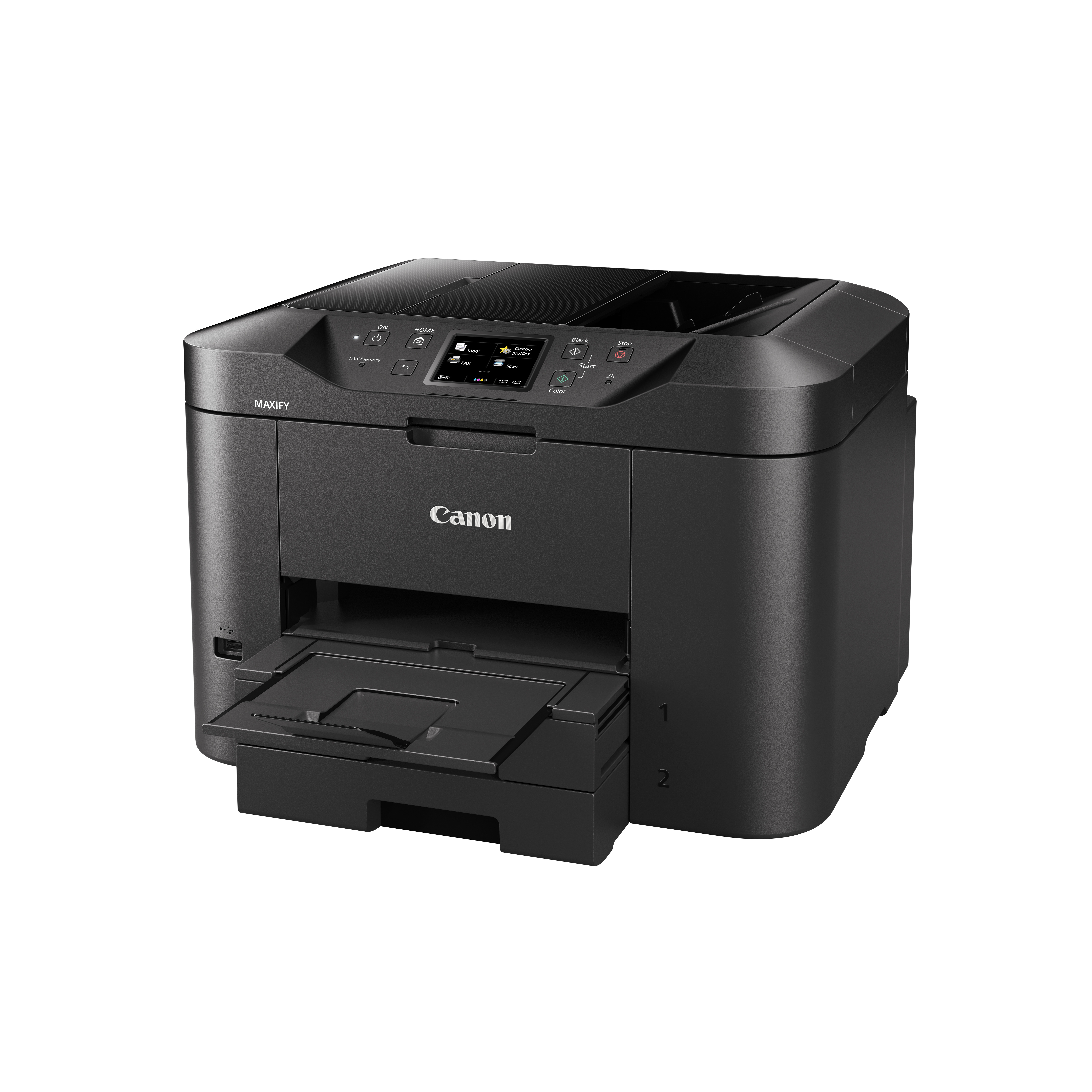 Maxify MB2750 Multifunction printer (A4, 24 ipm, 500 vellen, USB 2.0, LAN, Wi-Fi)