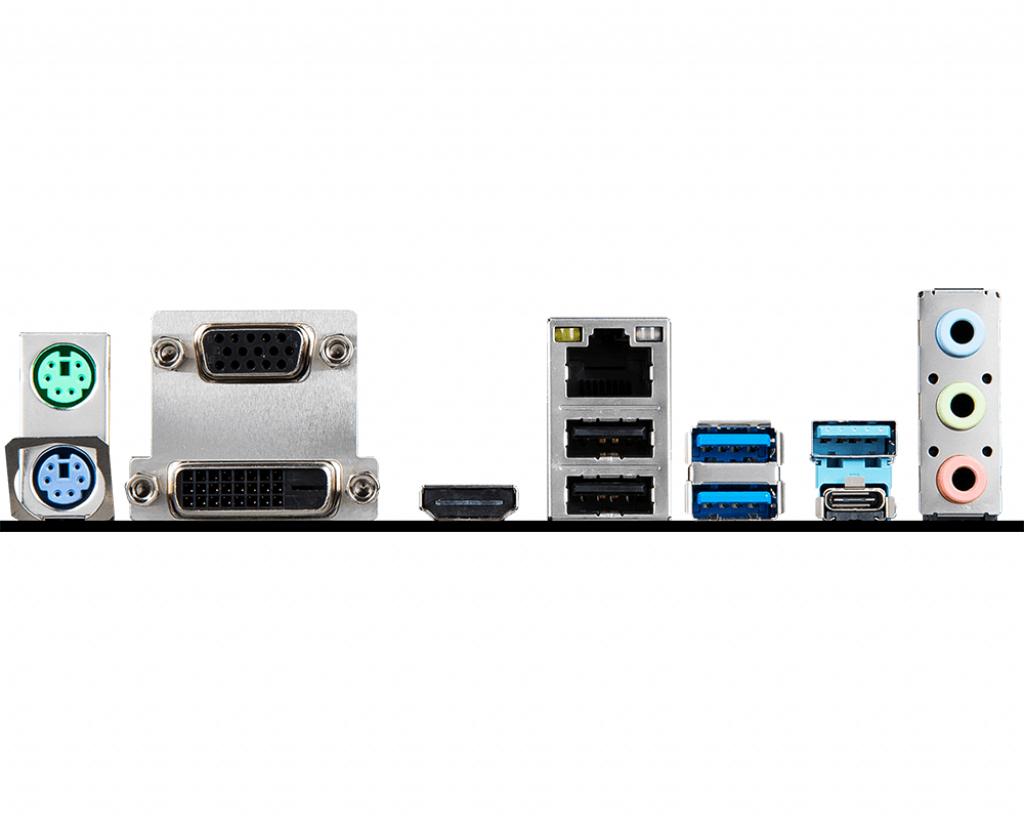 Socket 1151 :  B365M PRO-VDH (micro ATX, Intel B365, USB 3.1 Gen 1, Gigabit LAN, onboard graphics, HD Audio 8-channel)