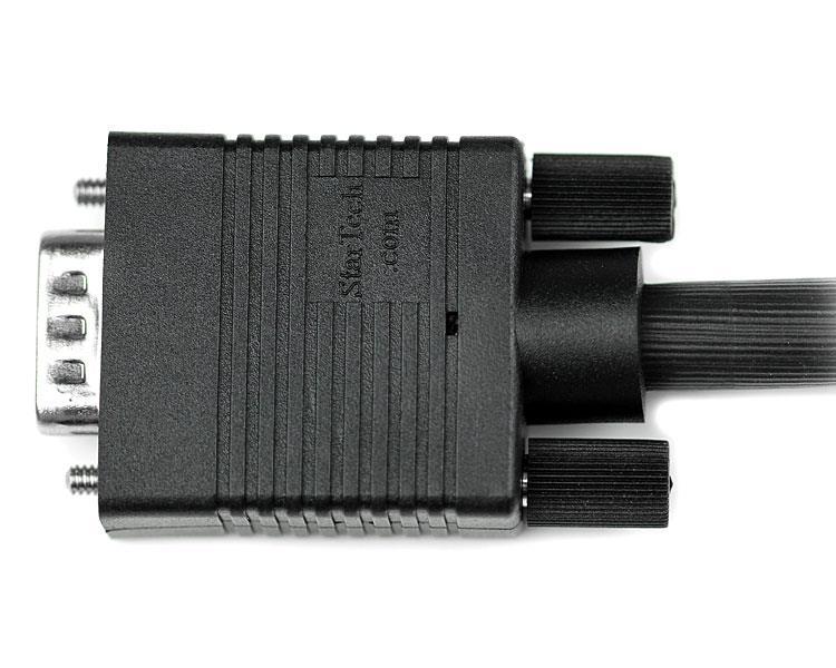 High Resolution VGA Monitorkabel HD15 M/M (1 meter, zwart)