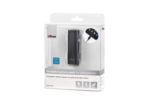 Portable battery pack voor smartphone