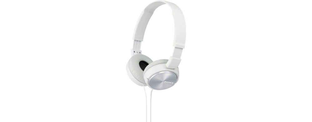 MDR ZX310 Headphones (full size, wit)