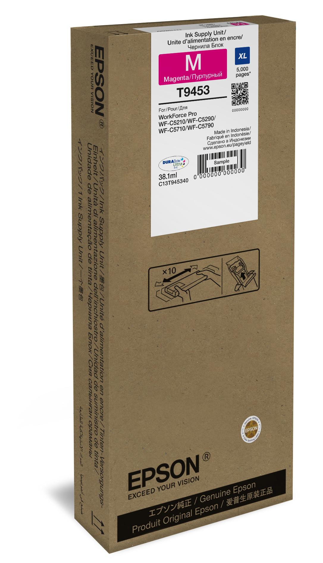 T9453 inkjetcartridge magenta (38,1 ml)