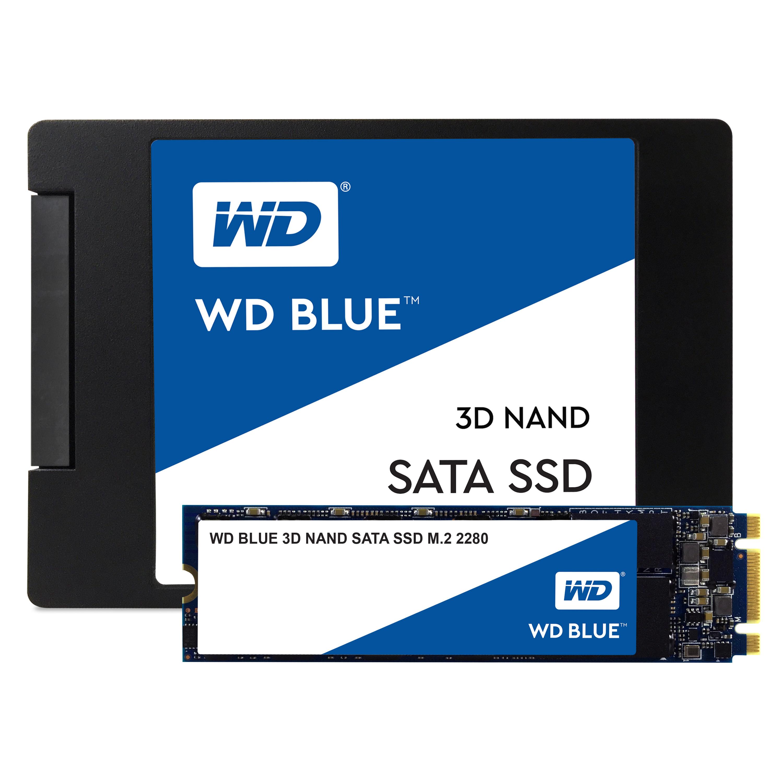 250 GB WDS250G2B0B WD Blue 3D (M.2 2280, SATA 6 Gb/s)
