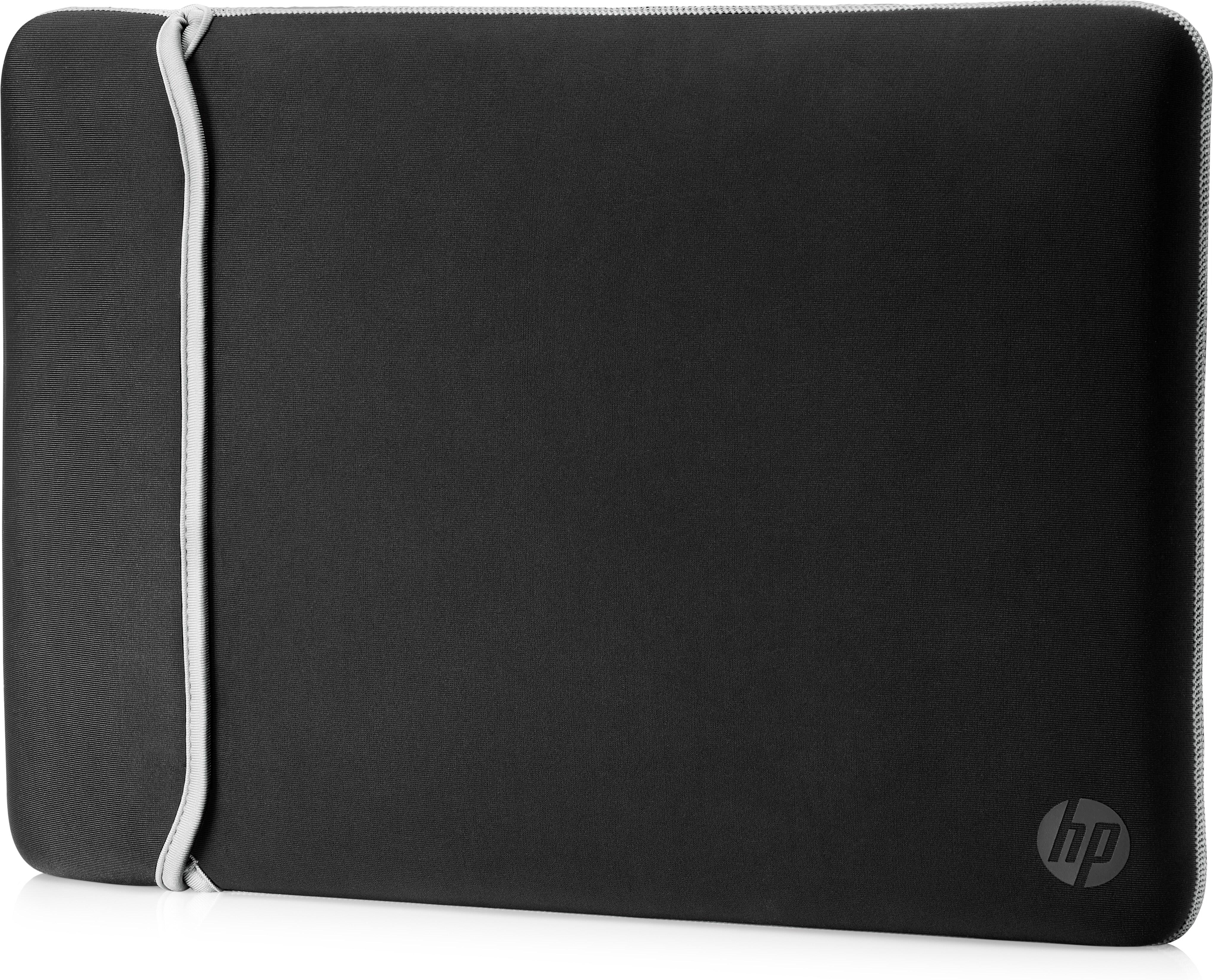 """Reversible Sleeve (14"""", zwart/zilver)"""