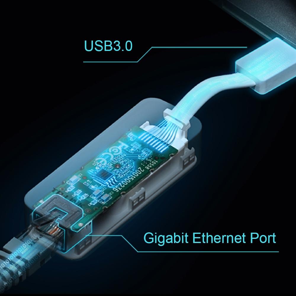 UE300 USB 3.0 naar Gigabit Ethernet Adapter
