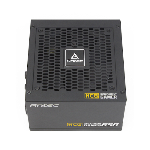 High Current Gamer Gold HCG650 Power supply 650 Watt (80 PLUS Gold, active PFC)
