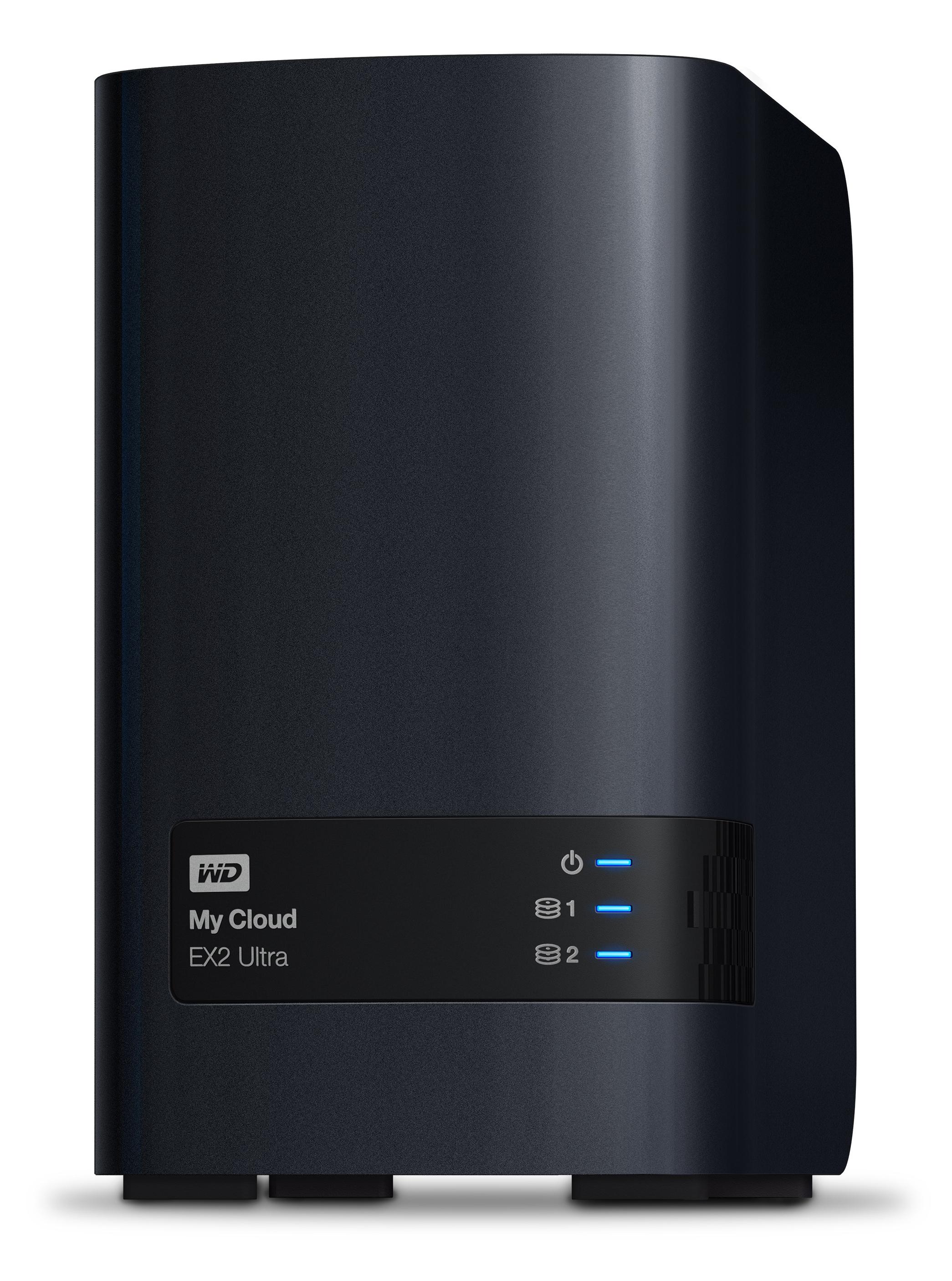 """8000 GB My Cloud EX2 Ultra (3,5"""", 2 x 4000 GB, rood, 2 x USB 3.0)"""
