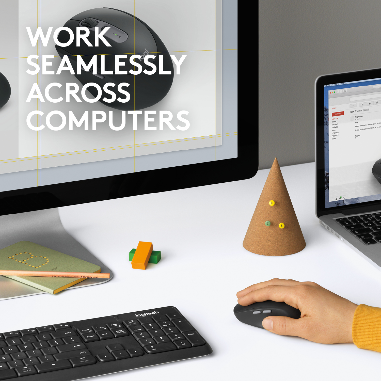 M590 Multi-Device Silent Wireless Mouse (grafiet)