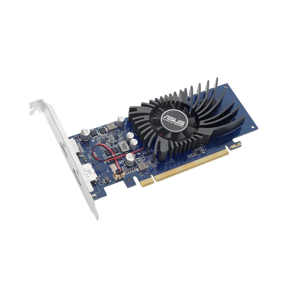 GeForce GT1030-2G-BRK (PCI-E 3.0, low-profile, 2 GB GDDR5, 1468 MHz, HDMI, DisplayPort)