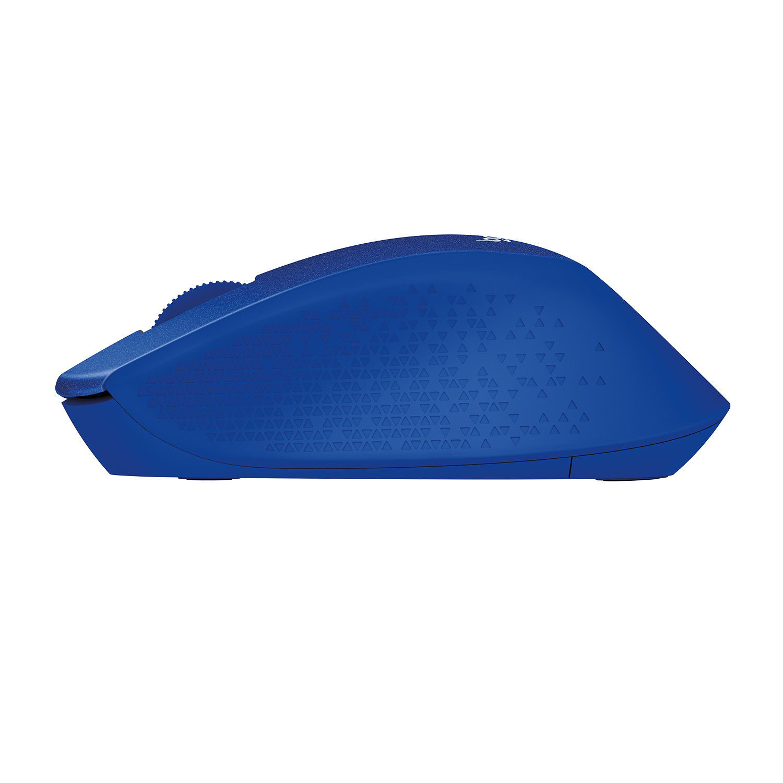 M330 Silent Plus Mouse (USB wireless receiver, blauw)