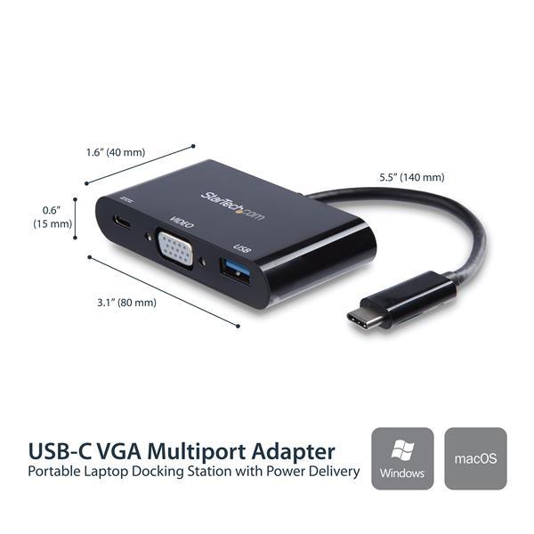 USB-C naar VGA Multifunction Adapter