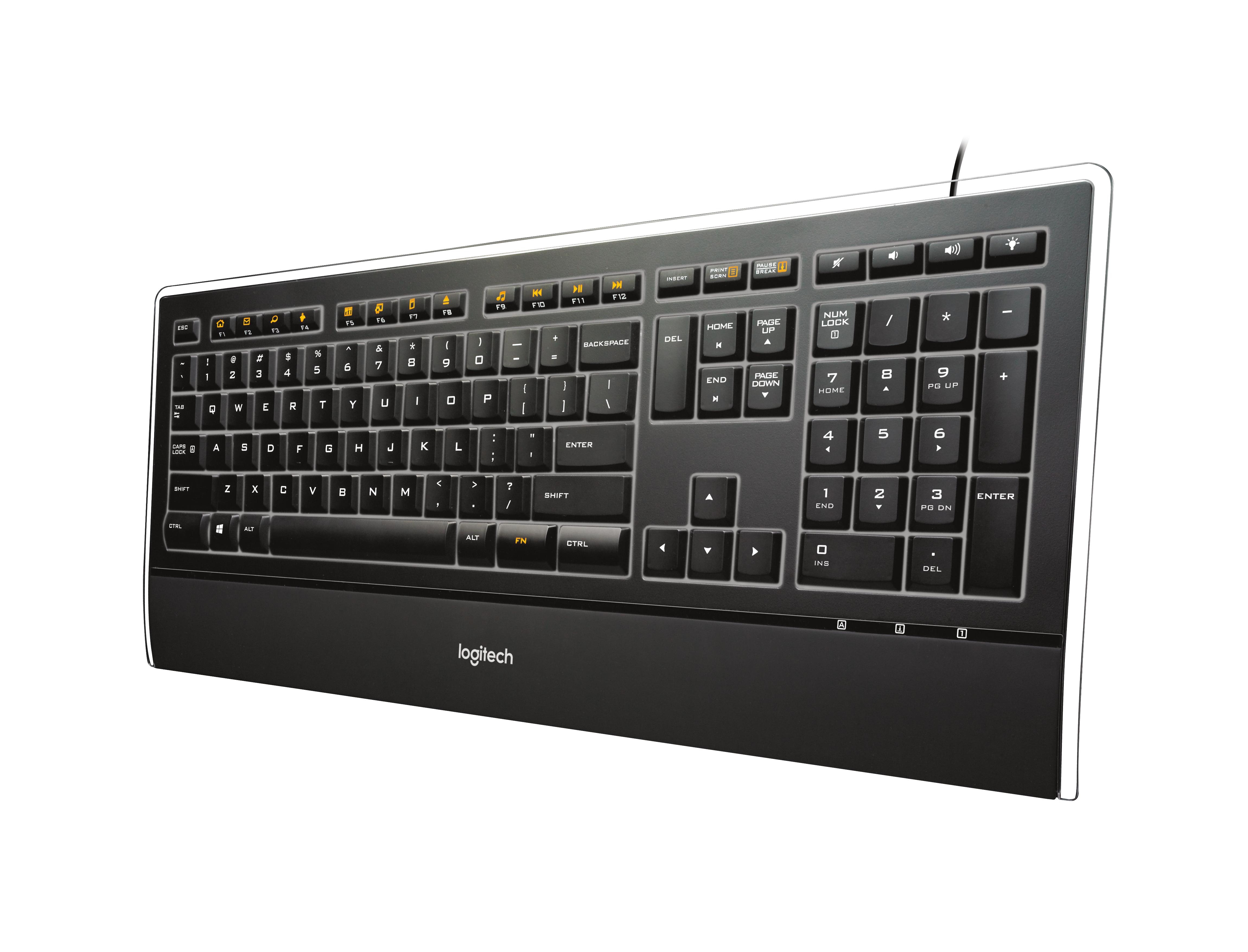 K740 Illuminated Keyboard (Azerty FR)