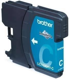 LC1100HYC inkjetcartridge cyaan (hoge capaciteit)