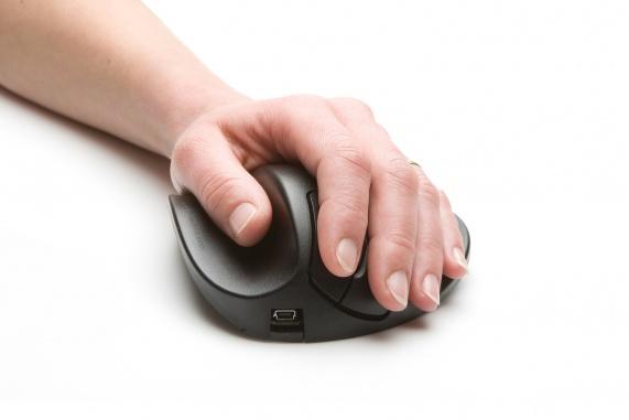 Hippus Mouse Small Left (USB, zwart)