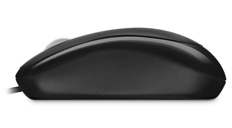 Basic Optical Mouse (optisch, zwart, PS/2, USB, bulk)
