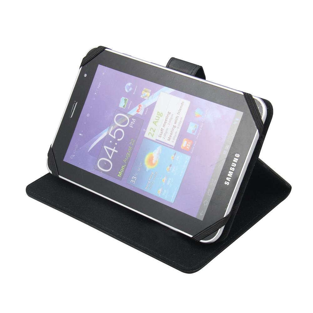 """Universal Case & Stand voor 10,1"""" tablets (zwart)"""