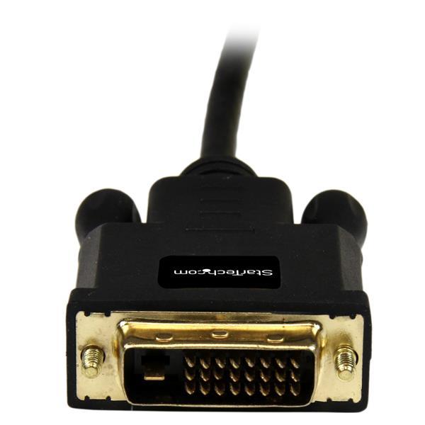 Mini DisplayPort naar DVI Adapter Converter (90 cm, 1920 x 1200, zwart)