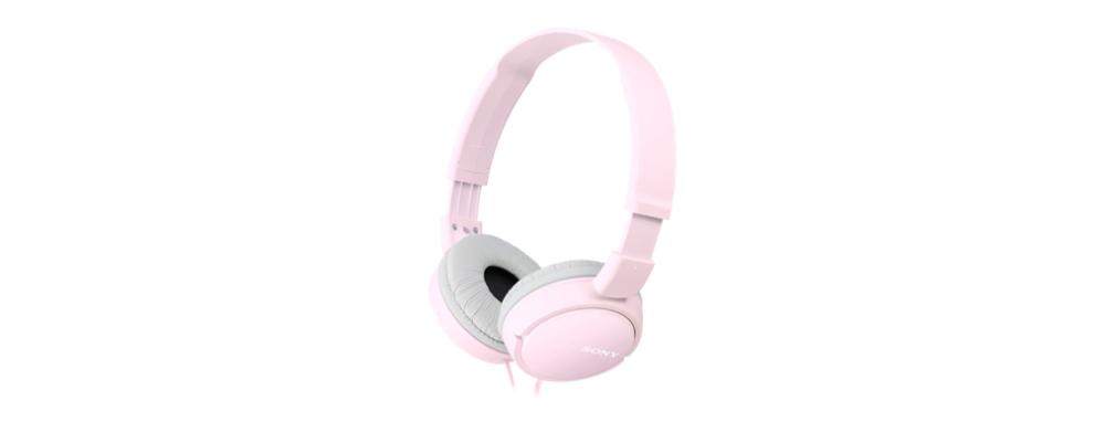 Basic overband headphone (roze)