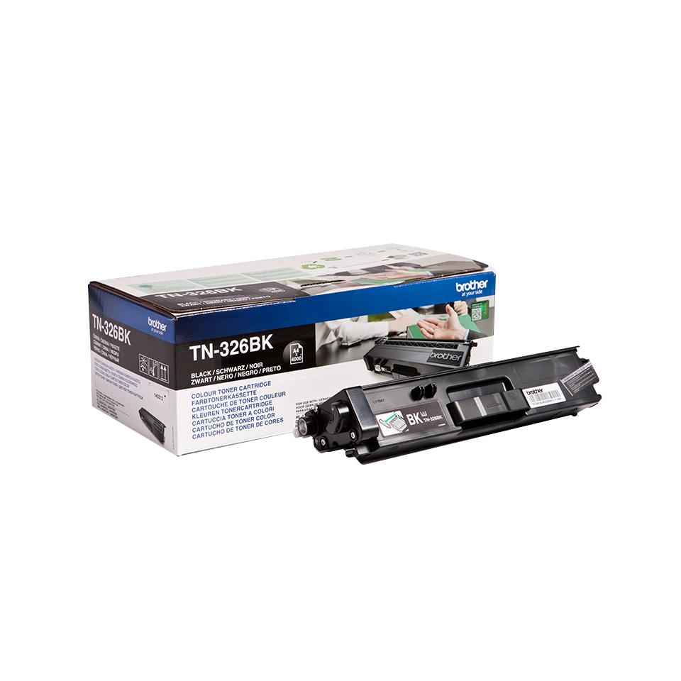 TN-326BK toner zwart (4.000 afdrukken)