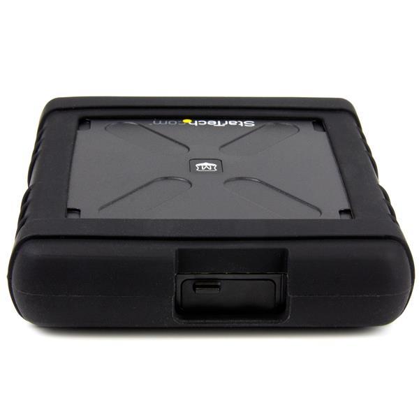 "Rugged Hard Drive Enclosure (USB 3.0, 2,5"" SATA 6 Gbps, UASP, Military MIL-STD-810G Rated, IP54)"