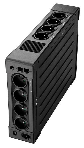 """Ellipse Pro 1200 UPS (230 V, 750 Watt, 1200 VA, USB, 8 output connectors, 2U, 19"""", FR)"""