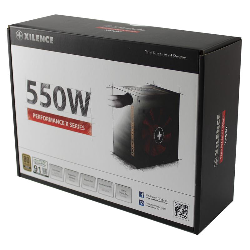 X Power Supplies Serie 550 Watt