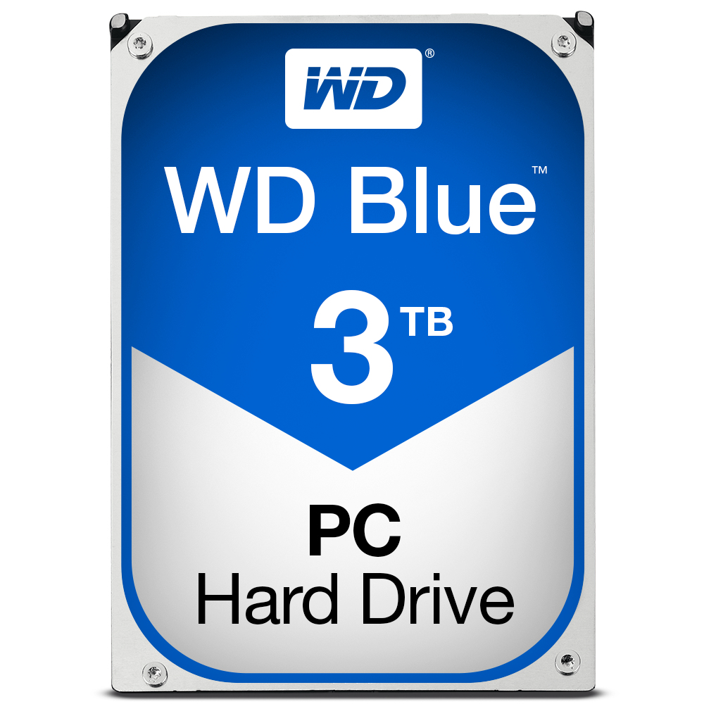 3000 GB WD30EZRZ Hard drive (SATA 6 Gb/s, 5400 rpm, 64 MB cache)