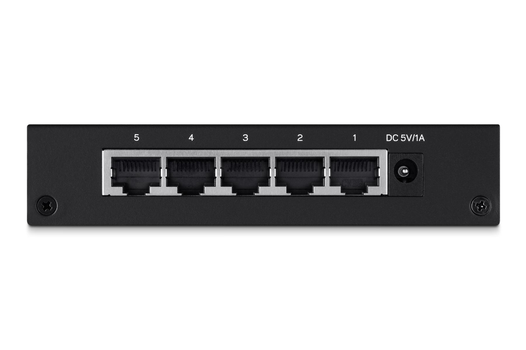 LGS105 Switch (unmanaged, 5 x 10/100/1000 poorten, desktop)
