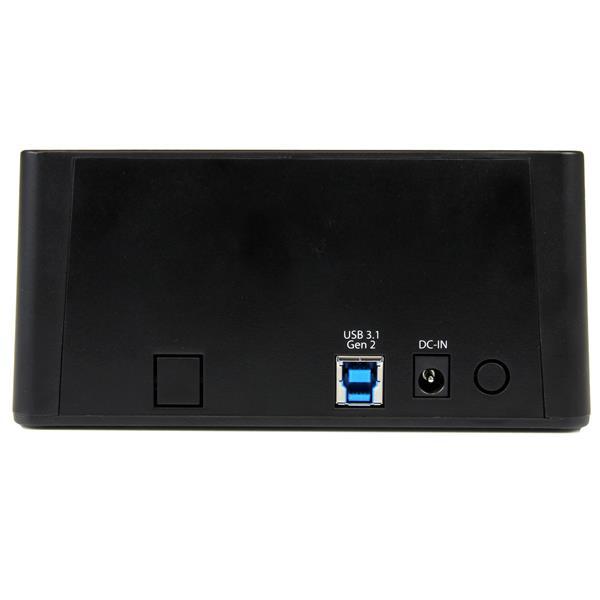 """USB 3.1 Standalone Duplicator Dock voor 2,5"""" en 3,5"""" SATA SSD/HDD schijven (Fast-Speed Duplication)"""