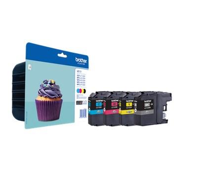 LC123VALBP inkjetcartridges valuepack (zwart, cyaan, magenta, geel)