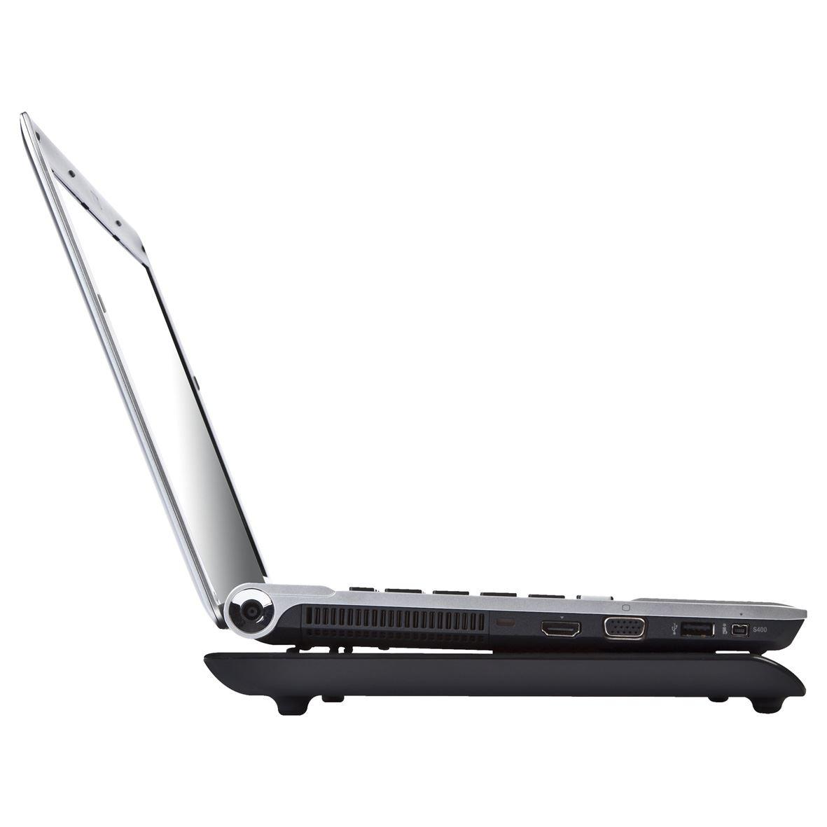 Laptop Chill Mat + Notebook fan (zwart)