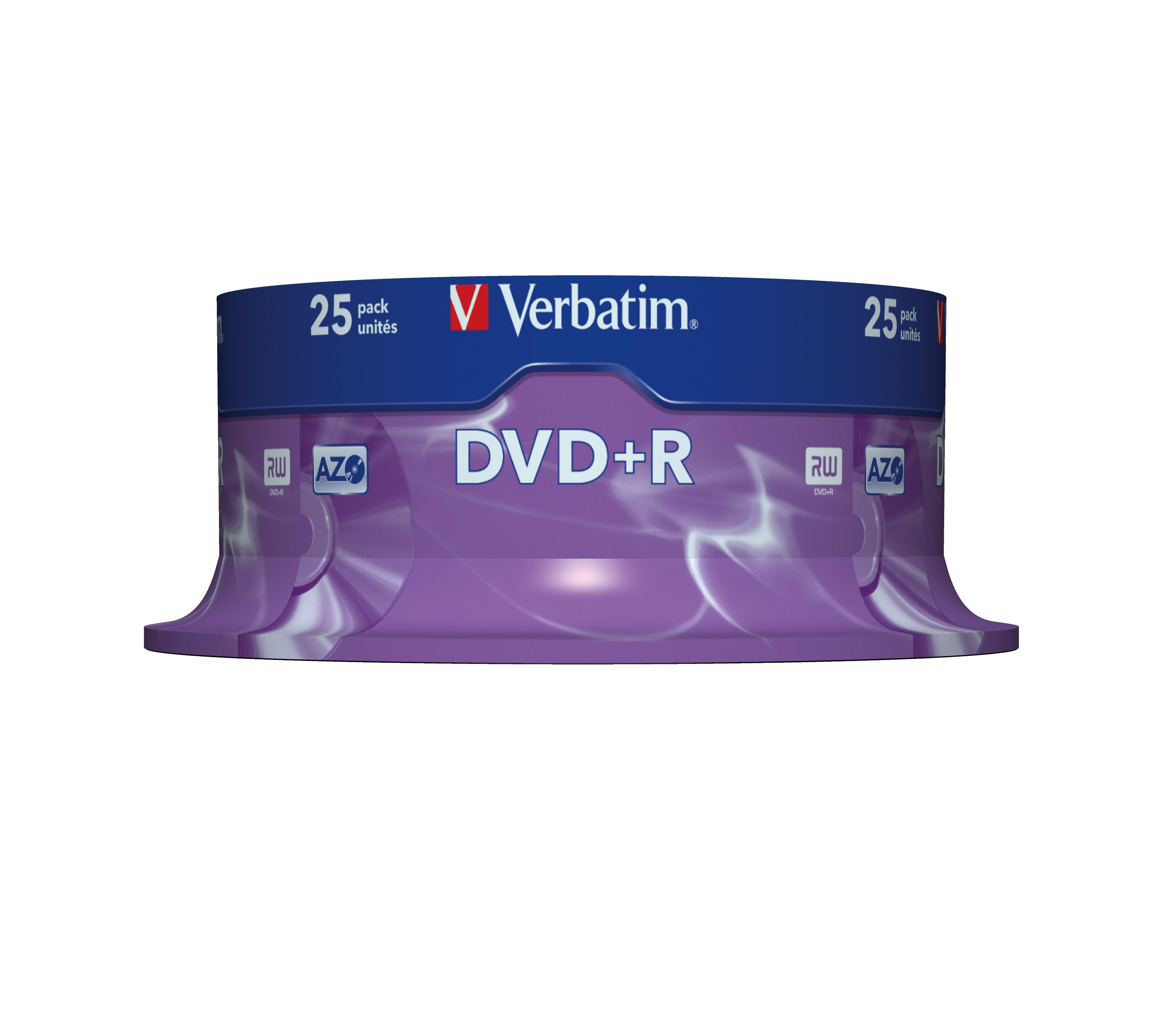 DVD+R 4,7 GB 16 speed (Advanced AZO, 25-spindel)