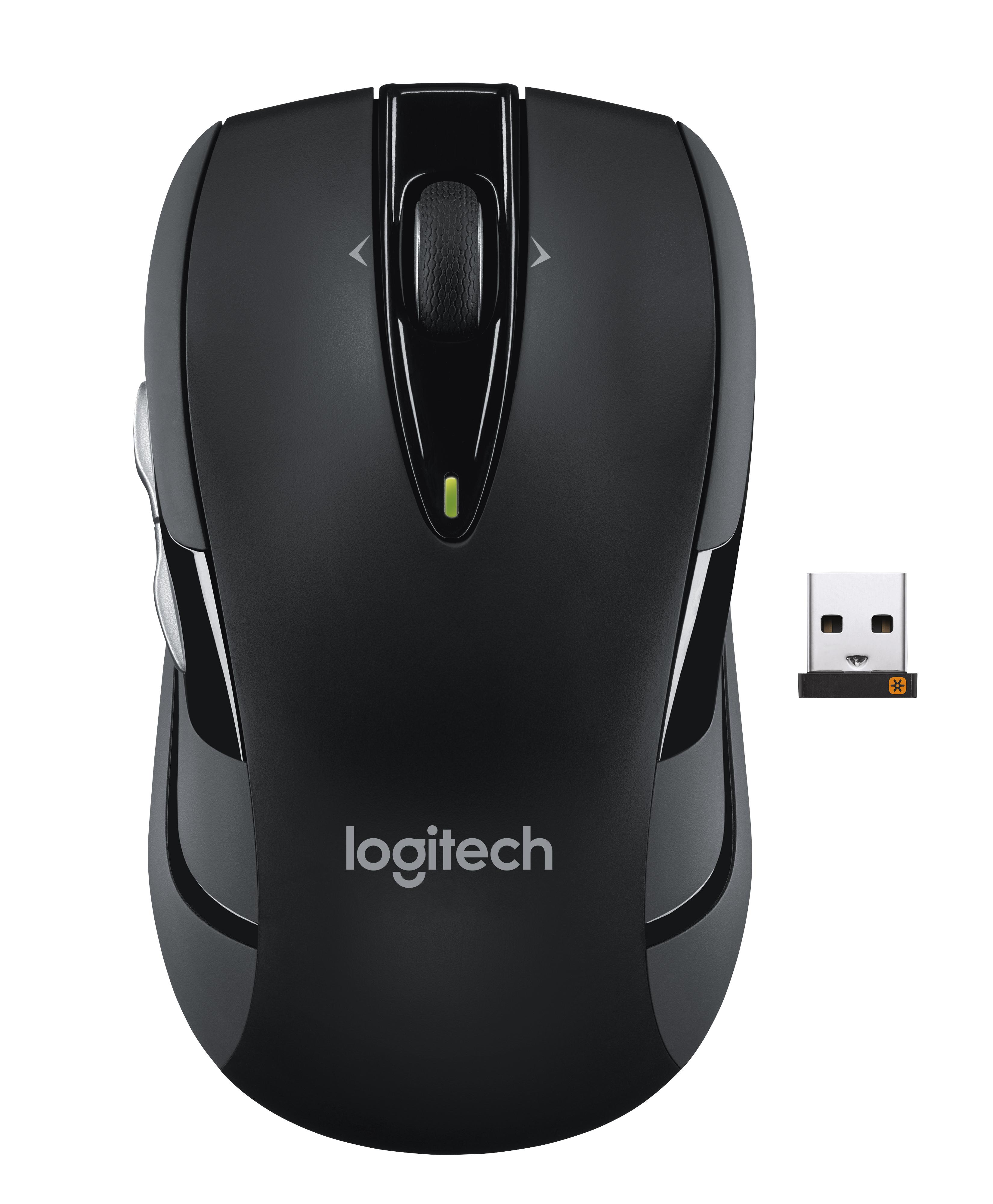 M545 Wireless Mouse (zwart)