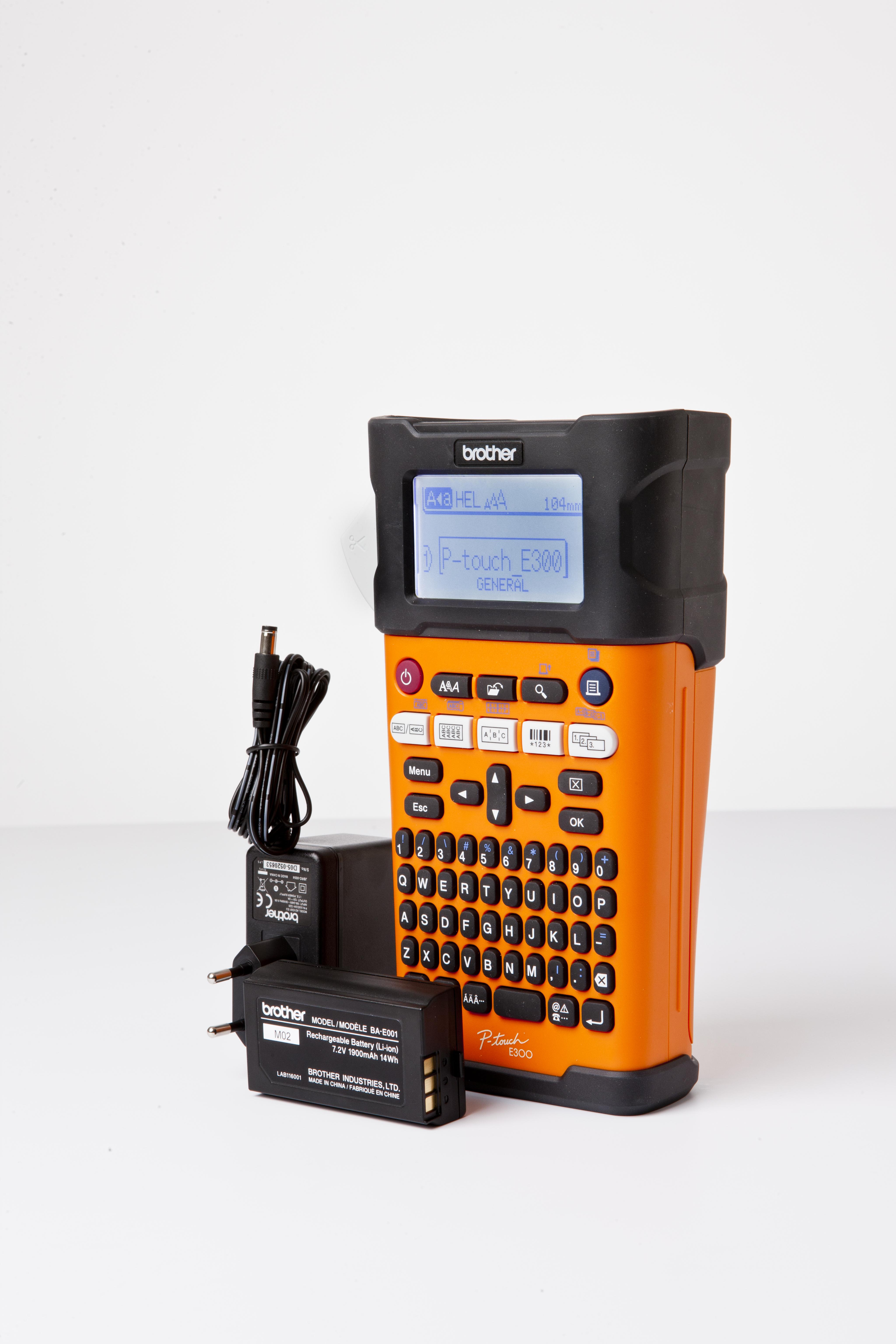 PT-E300VP P-Touch E300 Valuepack