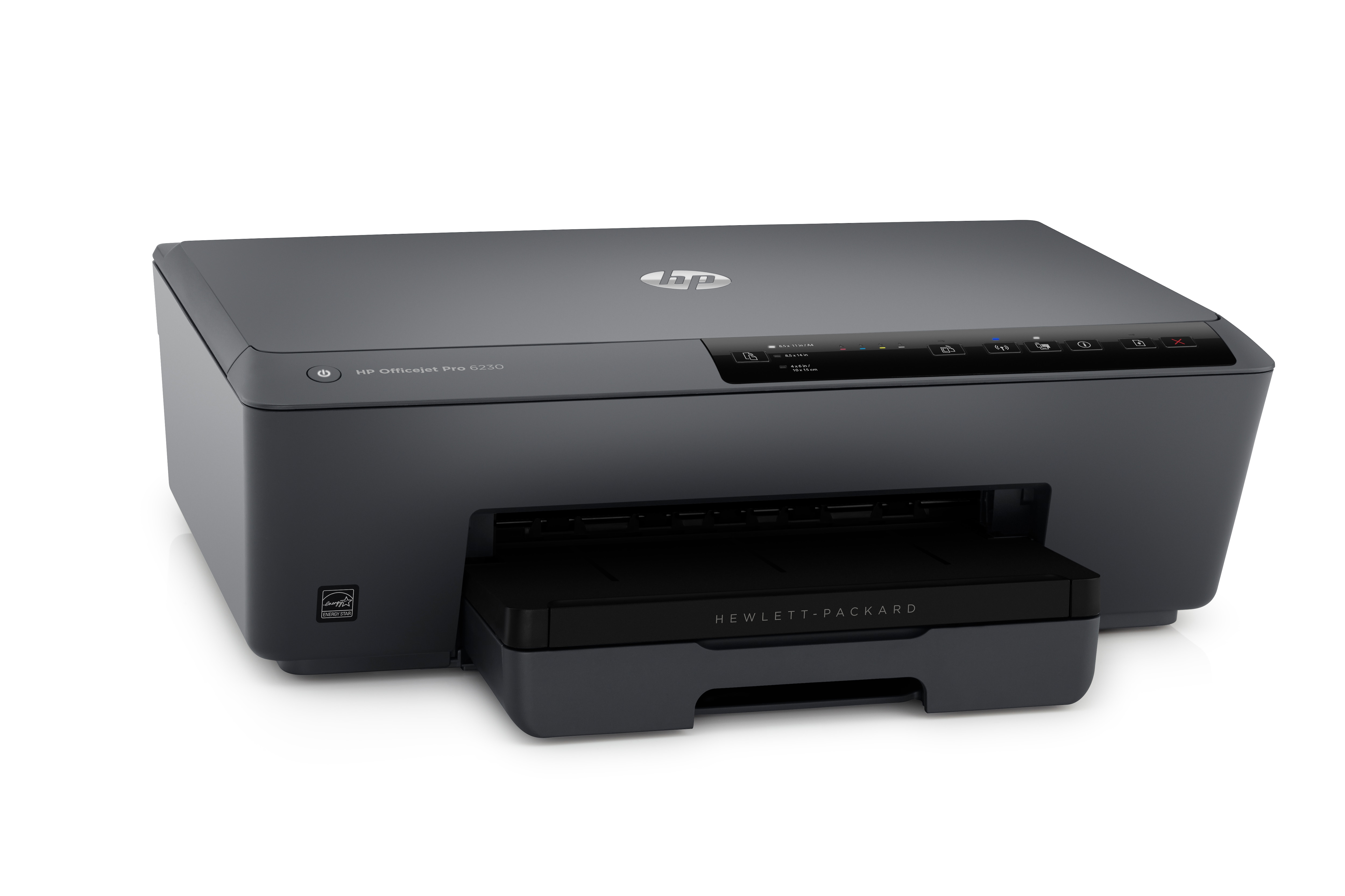 Officejet Pro 6230 ePrinter (duplex, A4, 600 x 1200 dpi, 29 ppm zwart, 24 ppm kleur, LAN, Wi-Fi, USB 2.0)