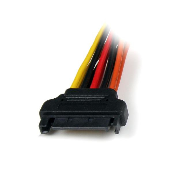 Latching SATA voedings Y splitterkabel M/F (15 cm)