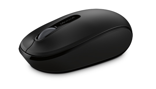Wireless Mobile Mouse 1850 (zwart)