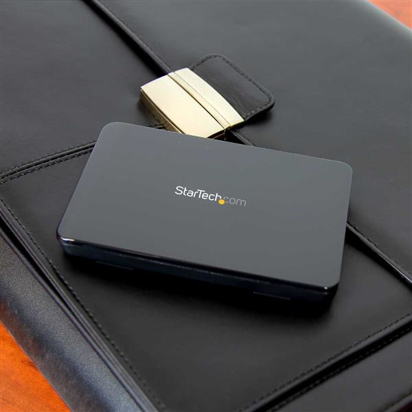 "Tool-free Enclosure voor 2,5"" SATA SSD/HDD (SATA III 6 Gbps, USB 3.1)"