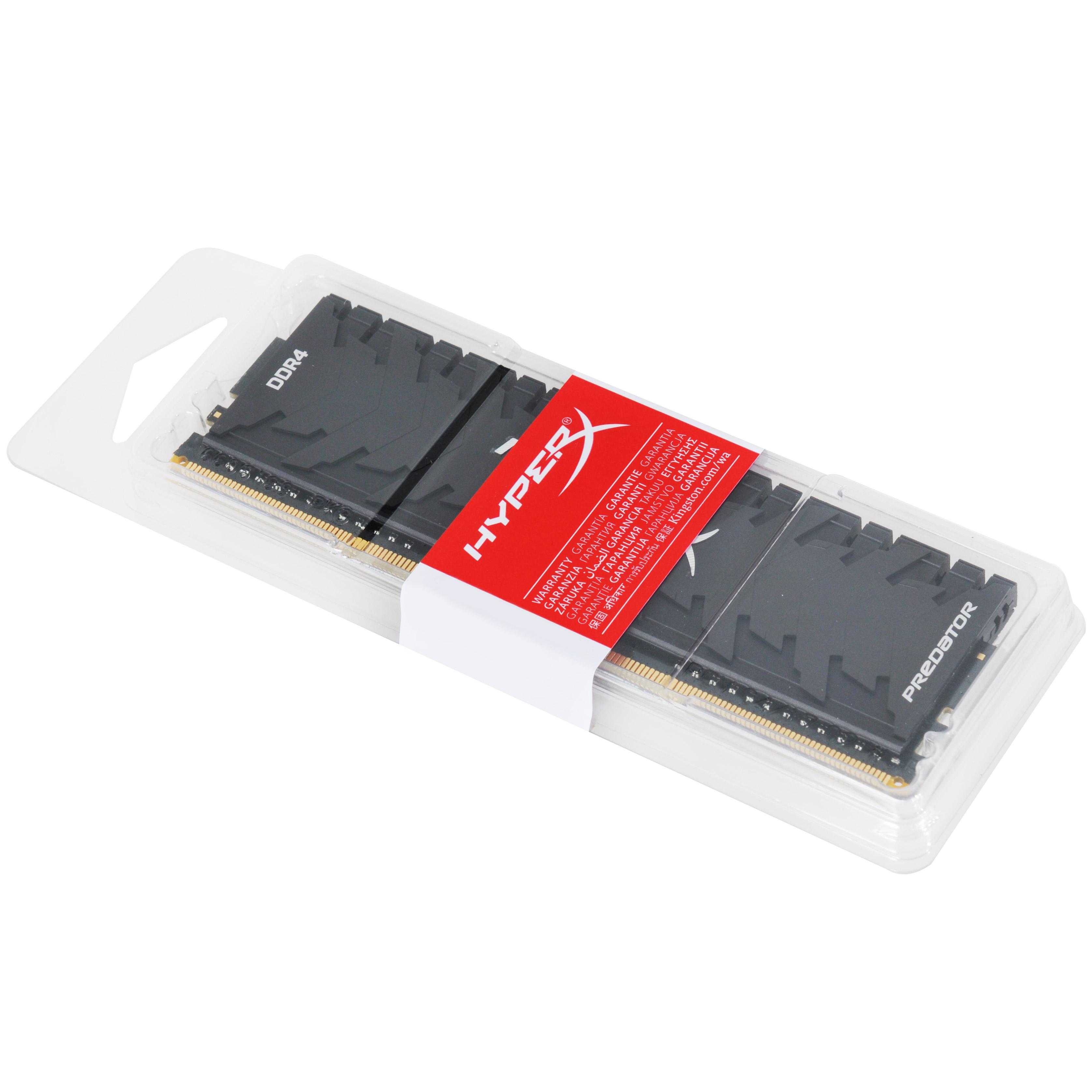 HX432C16PB3/16 DDR4 16 GB, 3200 MHz, CL16, XMP HyperX Predator