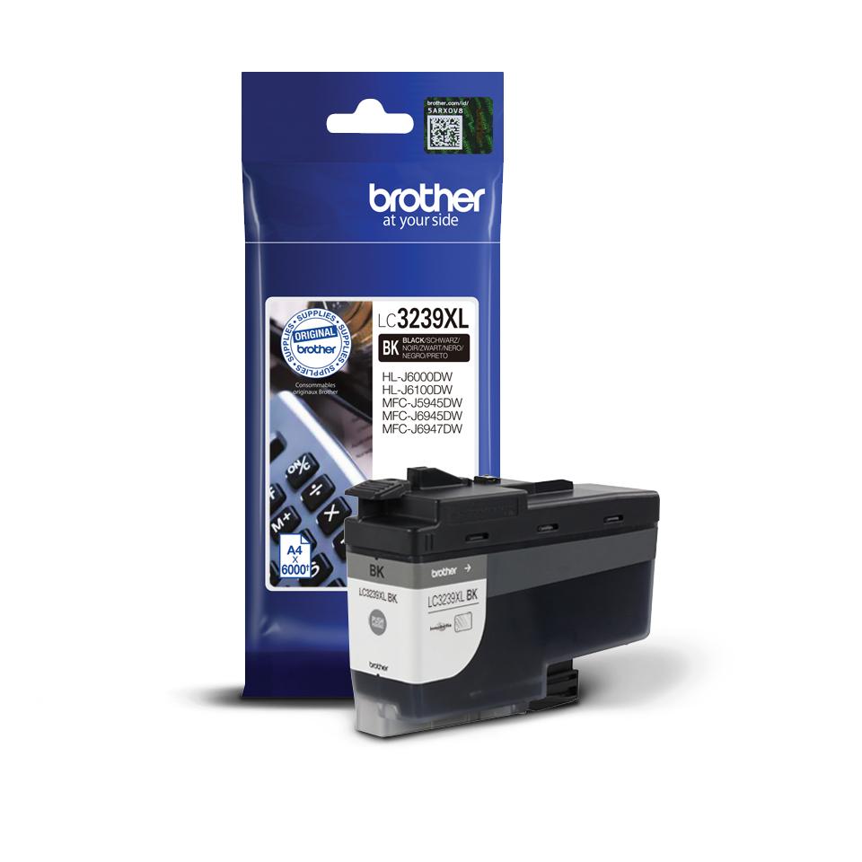 LC-3239XLBK inkjetcartridge zwart