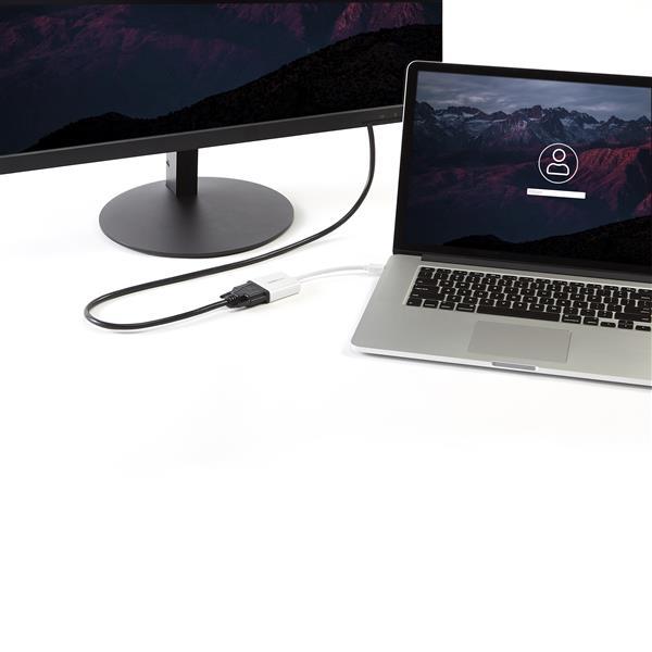 Mini DisplayPort naar DVI Video Adapter Converter (wit)