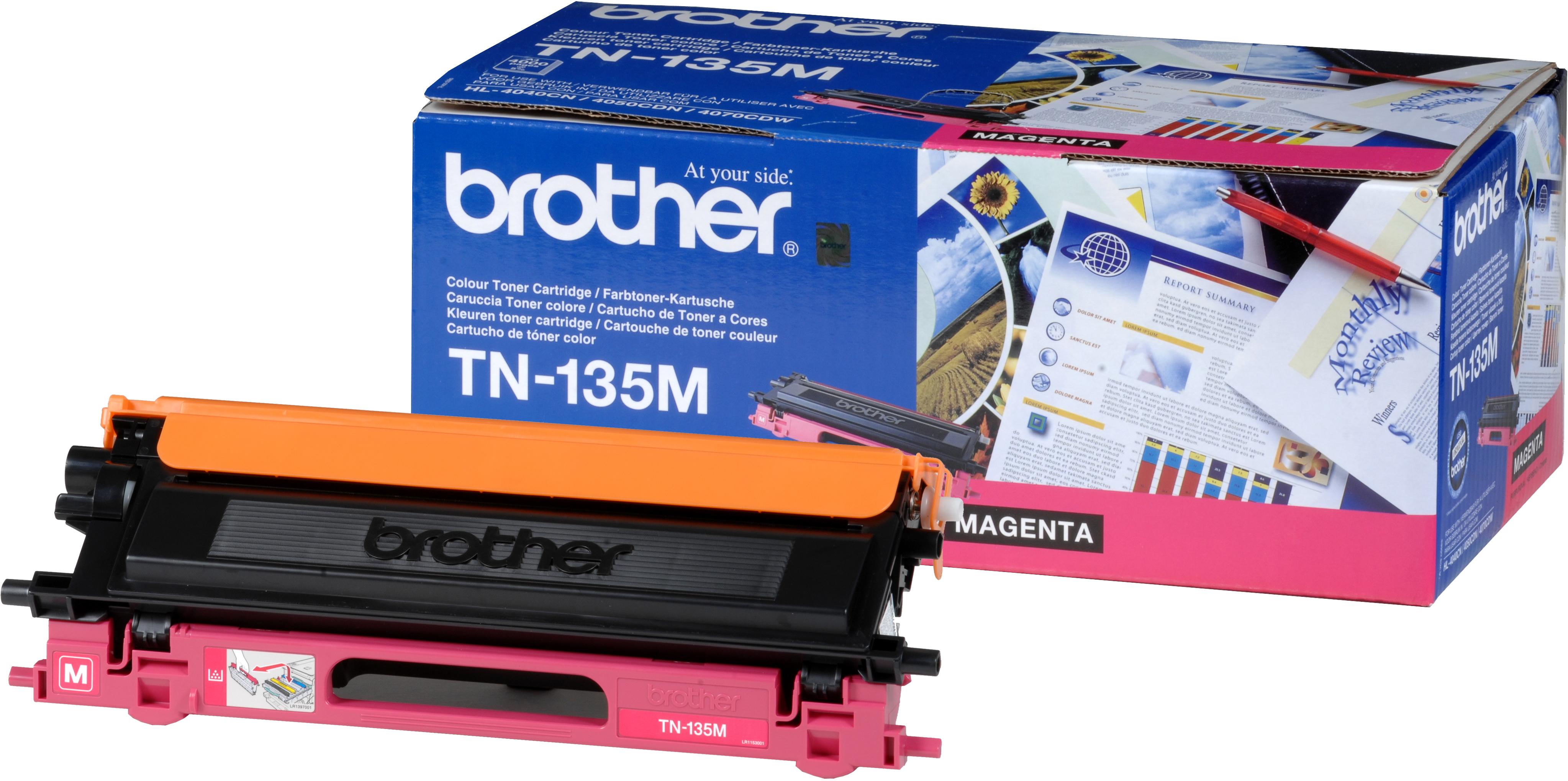 TN-135M toner magenta (4000 afdrukken)