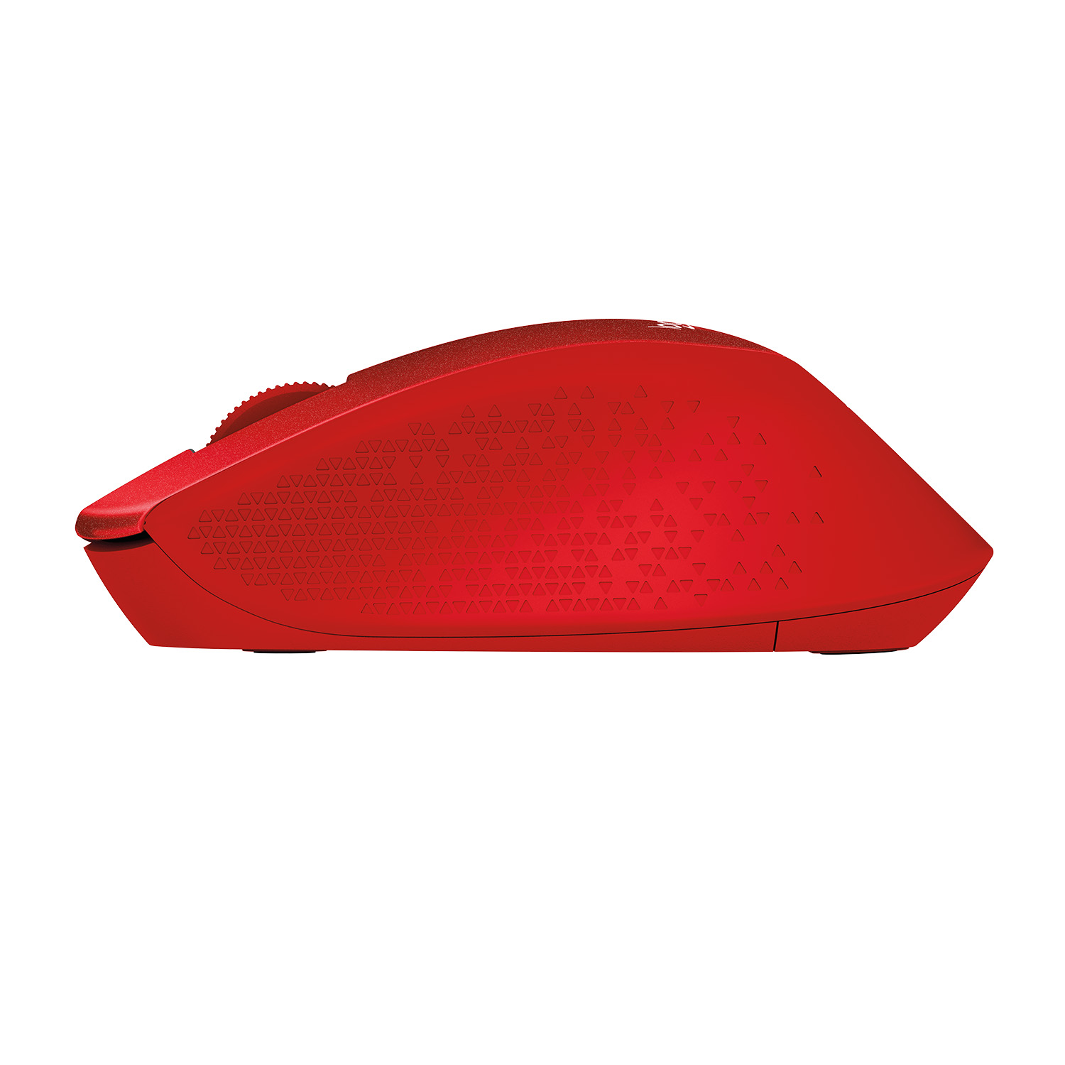 M330 Silent Plus Mouse (3 knoppen, draadloos, rood)