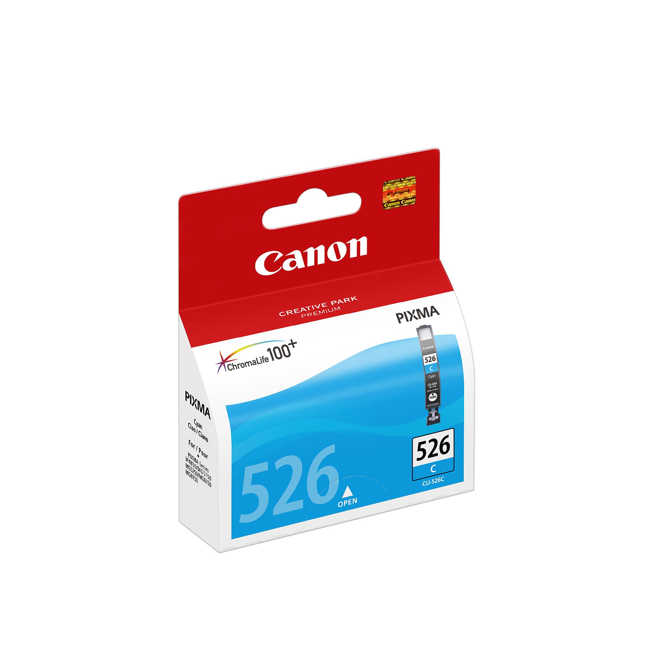 CLI-526 inkjetcartridge cyaan (9 ml)