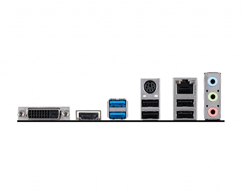 Socket 1200 : H410M-A PRO (micro ATX, Intel H410, USB 3.2 Gen 1, Gigabit LAN, HD Audio 8-channel)