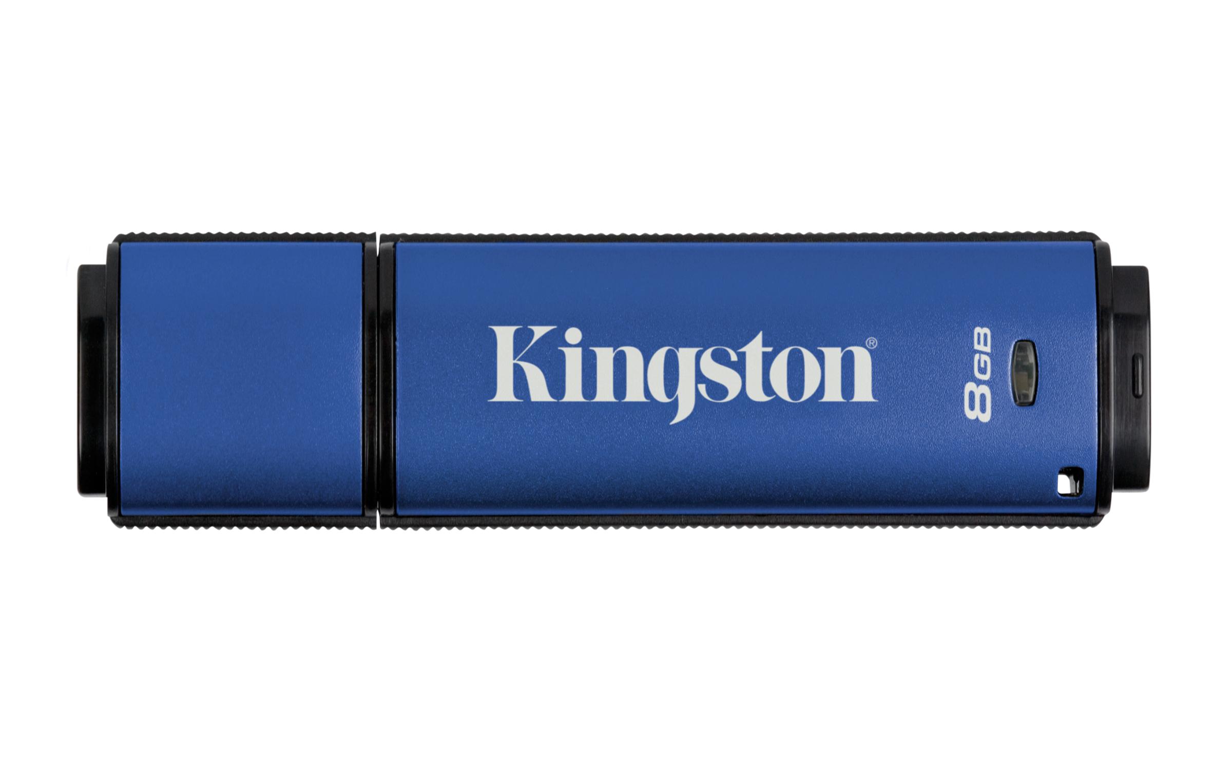 DTVP30 USB-Stick 8 GB (256-bit AES Encrypted, USB 3.0)