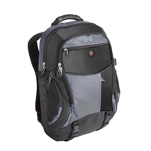 TCB001EU XL Notebook Backpac (zwart/blauw)